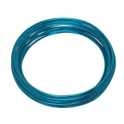 LeGold Aluminium Craft Wire Turquoise Colour 12 Gauge 5.5m