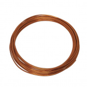 LeGold Aluminium Craft Wire Copper Colour 12 Gauge 5.5m