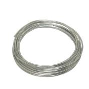 LeGold Aluminium Craft Wire Silver 12 Gauge 5.5m