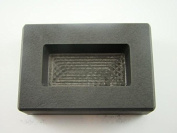 200 Gramme Gold Bar High Density Graphite Mould Loaf Copper-100 Gramme Silver Bar Made in the USA