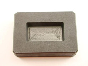 120ml Gold Bar High Density Graphite Mould 70ml Silver Loaf Scrap Copper Made in the USA
