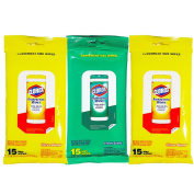 Clorox Disinfecting Wipes On The Go Value Pack, Fresh Scent and Citrus Blend