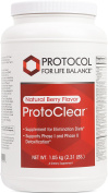 Protocol For Life Balance - ProtoClear - Vegetarian Pea Protein - Support for Detoxification and Elimination Diets - Natural Berry Flavour - 1.05 kg