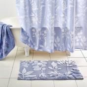 bluebellgray Fleur Blue Area Rug