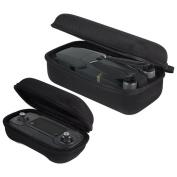 VANKER Foldable Remote Controller + Drone Body Bag Hardshell Housing Bag Storage Box Case for DJI Mavic Pro