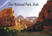 Zion National Park, Utah, National Park, Mountains, Souvenir 2 x 3 Photo Fridge Magnet