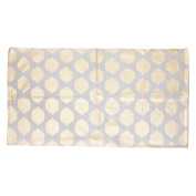 Thro by Marlo Lorenz Isabelle Yellow/Grey Area Rug