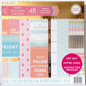 Craft Smith Paper Pad Weekday 30cm x 30cm 48 Sheets