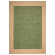 Pawleys Island Islander Green Solid Indoor/Outdoor Area Rug
