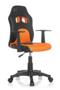 Hjh Office Teen Racer Al Kids Chair With Armrests - Black/orange