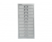 Bisley Desktop Cabinet 10 Drawer H590xw279xd380