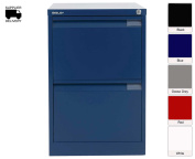 Bisley Filing Cabinet Bs2e 2 Drawer H711xw470xd622