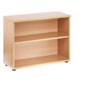Jemini 730mm Bookcase 1 Shelf Maple Kf838420