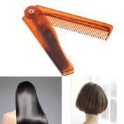 Niceskin Folding Hair Comb Beauty Tool for Men Women, Plastic