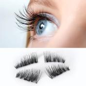 Magnetic Eyelashes,Aritone 3D Magnetic Eye Lashes Reusable False Eye Lashes