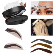 OMfeng Natural Eyebrow Powder Makeup Brow Stamp Palette Delicated Shadow Definition