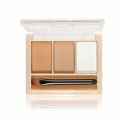 Fenleo MELOISION 3 Colour Eye Shadow Eyebrow Powder Make Up Palette Women Beauty