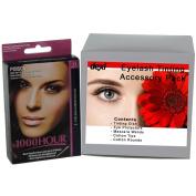 1000 Hour Eyelash & Brow Tint Kit Mascara (Brown Black)