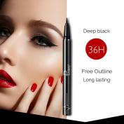 Eyeliner Pen,Aritone Waterproof Beauty Makeup Eye Liner Pencil Black Liquid Eyeliner Pen