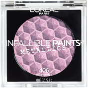 L'Oreal Infallible Paints Metallics Eyeshadow, 406 Violet Lustre