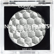 L'Oreal Infallible Paints Metallics Eyeshadow, Aluminium Foil