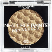 L'Oreal Infallible Paints Metallics Eyeshadow, 402 Brass Knuckles
