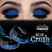 GlitterWarehouse Blue Crush Holographic Loose Glitter Eye Shadow Powder