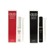 Callas Eyelash Adhesive Clear & Black Duo