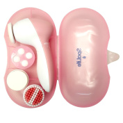SpaLife 4 in 1 Facial Cleaning Brush and Massager with 4 Brush Heads for Removing Blackhead, Exfoliating and Massaging