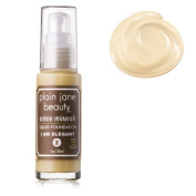 PLAIN JANE BEAUTY I AM ELEGANT (#2) CREME MINERALS LIQUID FOUNDATION