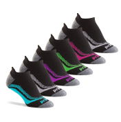 Prince Women's Tab Performance Athletic Socks for Running, Tennis, and Casual Use