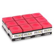 Box of 12 Cubes of Pool Cue Chalk, Billiard Accessories by Felson Billiard Supplies