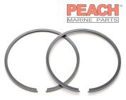 Peach Marine Parts PM-0396377 Piston Ring Set (Standard); Replaces Johnson Evinrude OMC: 0396377, 396377, 0385807, 385807, Sierra: 18-3910, GLM: 24240, Mallory
