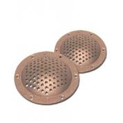 Buck Algonquin Round Strainer Bronze - 7.6cm - 1.3cm Diameter