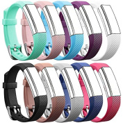 Band For Fitbit Alta HR and Alta, Replacement Soft Wristband with Metal Buckle Clasp for Fitbit Alta HR and Alta Smart Fitness Tracker, Universal Size