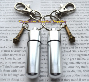 Microphone Stainless Steel Urn keychain-Memorial Keychain-Microphone Remembrance Keychain-Sympathy-Urn for Ashes