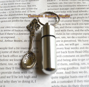 Spoon Cremation Locket, Perfume Vial, Ashes Locket, Silver Spoon Cremation Locket, Silver Ashes Locket, Spoon Memorial Locket, Silver Memorial Locket