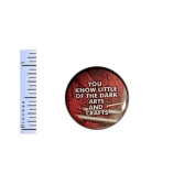 Funny Knitting Button Arts and Crafts Nerdy Nerd Geeky Geekery Pin Pinback 2.5cm