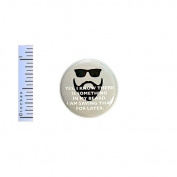 Funny Beard Button I Know There Is Something In My Beard Saving It For Later Random Pin Pinback 2.5cm