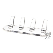 Clear Acrylic 4 Finger Ring Jewellery Display Stand