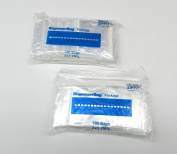 200 PLASTIC ZIP LOCK BAGGIES 2MIL CLEAR 2x2 RE-USE-ABLE POLY BAGS 2MIL (3E) NOVELTOOLS