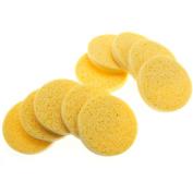 10pcs Facial Sponges Cellulose Natural Facial Cleansing Sponge