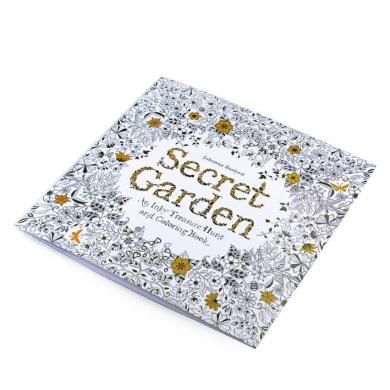 Kwok Adult Colouring Book 《Secret Garden》