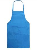 Freedi Kids Artists Chef Apron Painting Baking Kitchen Reusable Pocket Bib Apron 50cm x 50cm