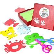 Children's Paper-cut Origami Handmade Toys Early Education DIY 120pcs