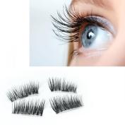 Ultra-thin 0.2mm Magnetic Eyelashes 3D Reusable Iusun False Magnet Eye Lashes Extension