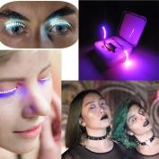 LED Eyelashes, Iusun Music Control False Eye Lashes Eyelid Icon Saloon Pub Club Bar Party Makeup