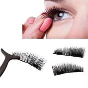 CSSD Ultra-thin 0.2mm Magnetic Eye Lashes 3D Reusable False Magnet Eyelashes