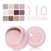 NICOLE DIARY 5ml Soak Off UV Gel Nude Series Colour Coat UV & LED Nail Art Gel Polish D-07
