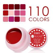 NICOLE DIARY 5ml Soak Off UV Gel Red Series Colour Coat UV & LED Nail Art Gel Polish F001-012 12 Colours